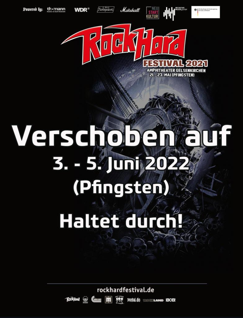 Rock Hard Festival | Fr., 03.- So., 05.06.22