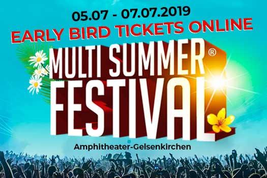 MultiSummerFest |Do., 04.-07.07.19