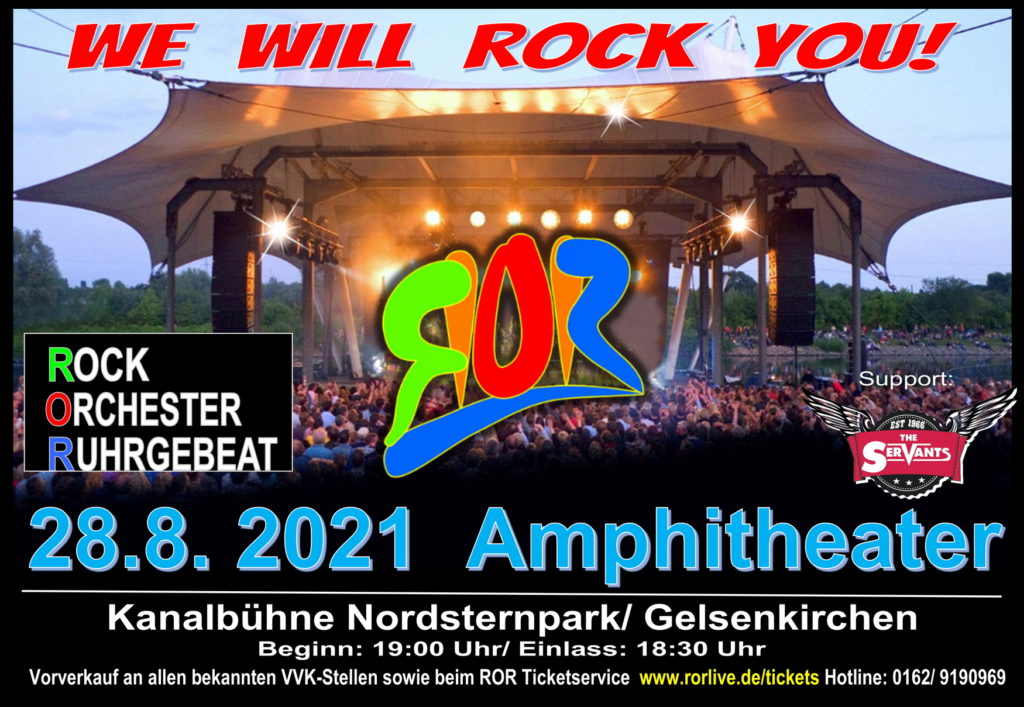 Rockorchester |Sa., 28.08.21